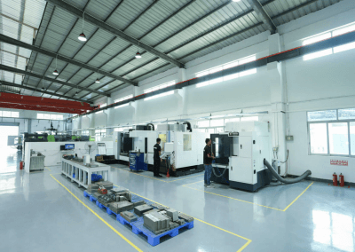Our CNC department is ready to cut your molds with accuracy of 0.002